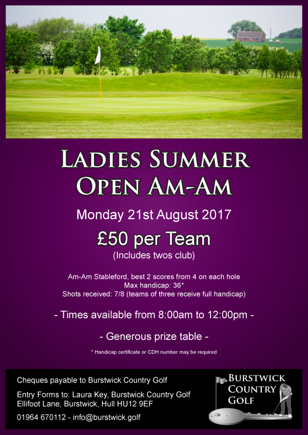 Ladies Open Am-Am
