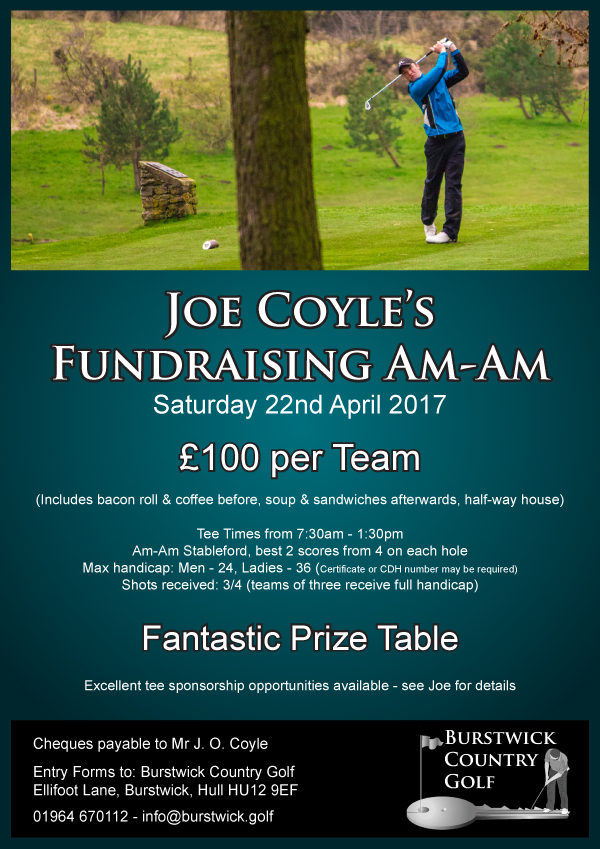 Joe Coyle Fundraising Am-Am