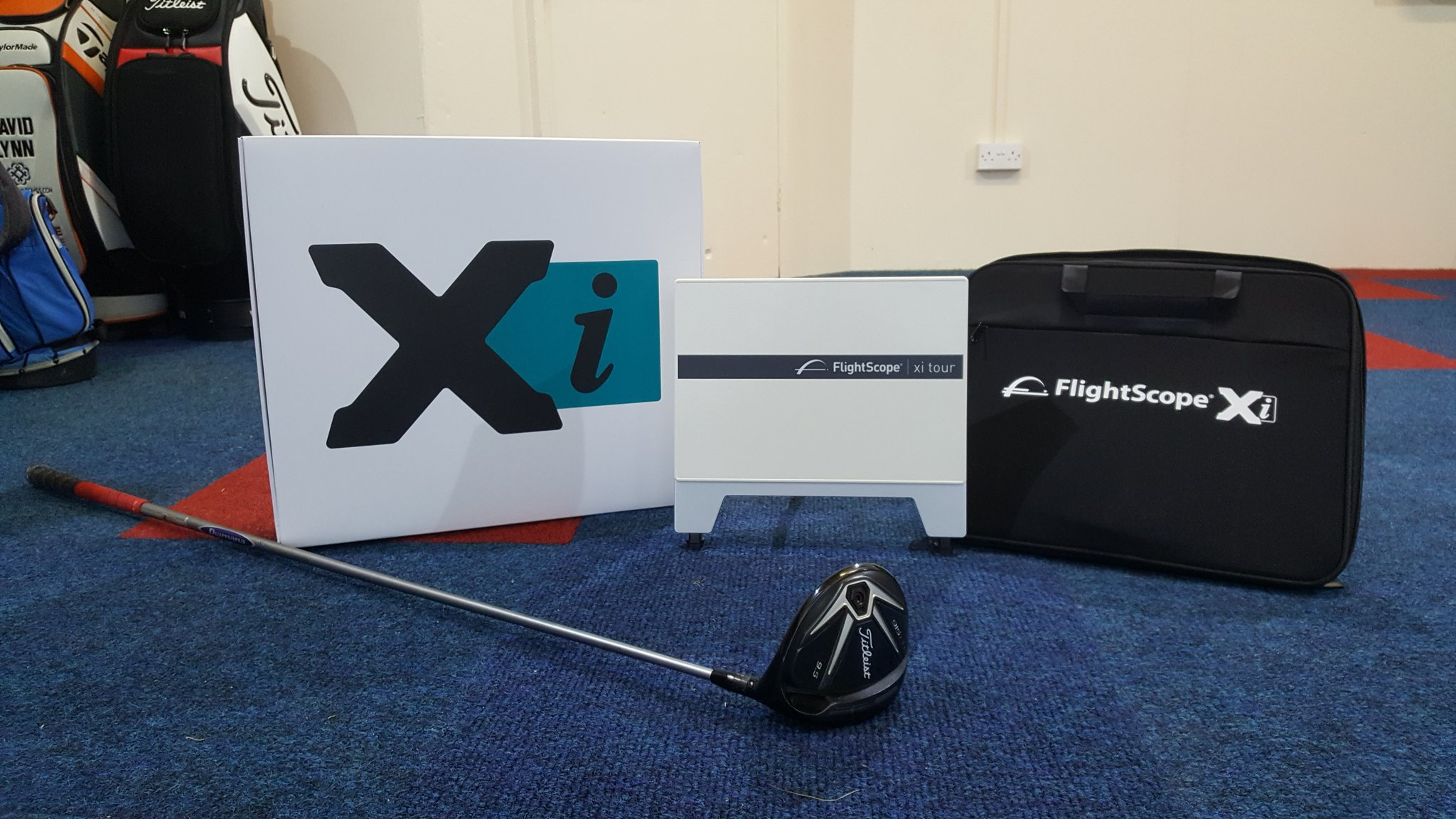 Flightscope Xi Tour at the James Bisby Golf Academy, Burstwick Country Golf, 10 minutes from Hull