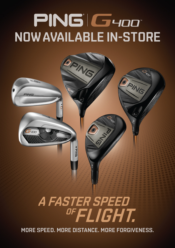 PING G400 Driver, Fairways, Hybrids and Irons
