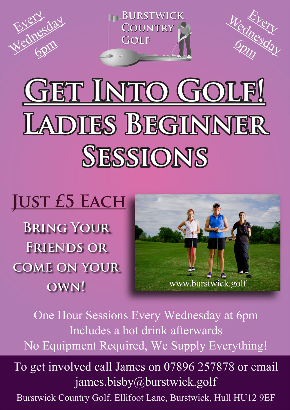 Ladies and Girls Beginner Coaching