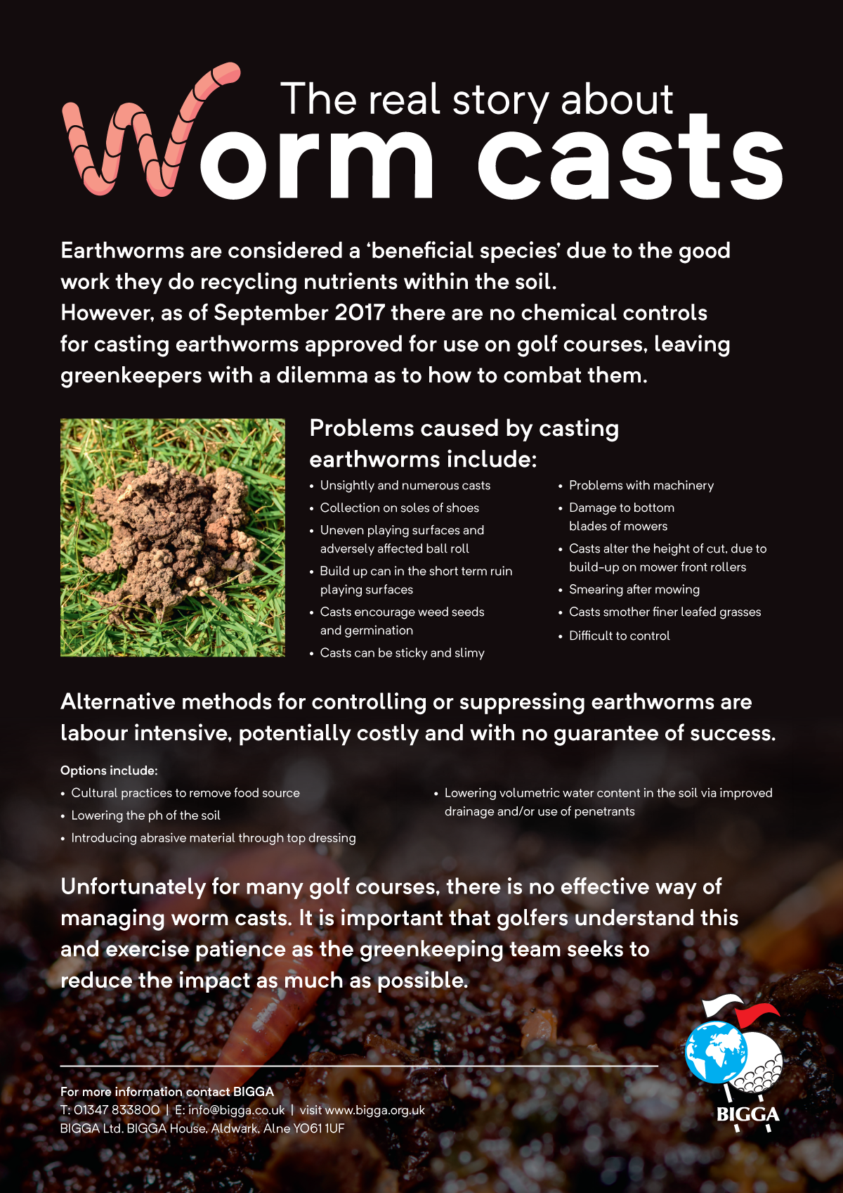 Wormcast Pesticide