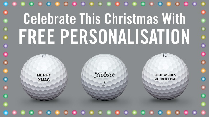 Titleist Christmas Personalisation