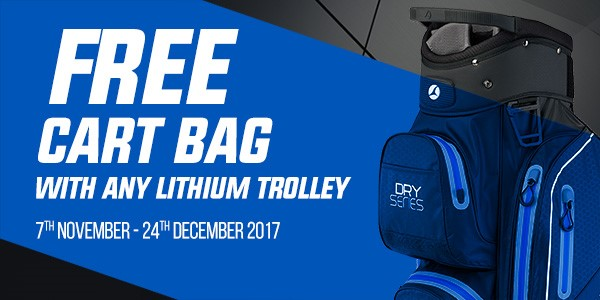 Motocaddy free golf bag
