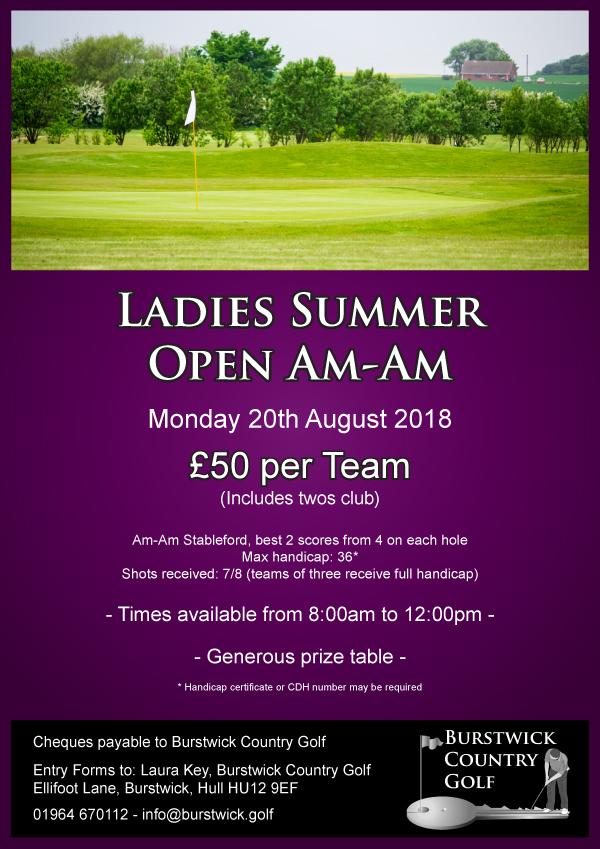Ladies Open Am-Am