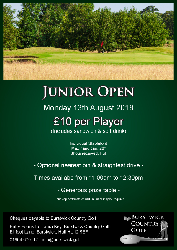 Junior Individual Open