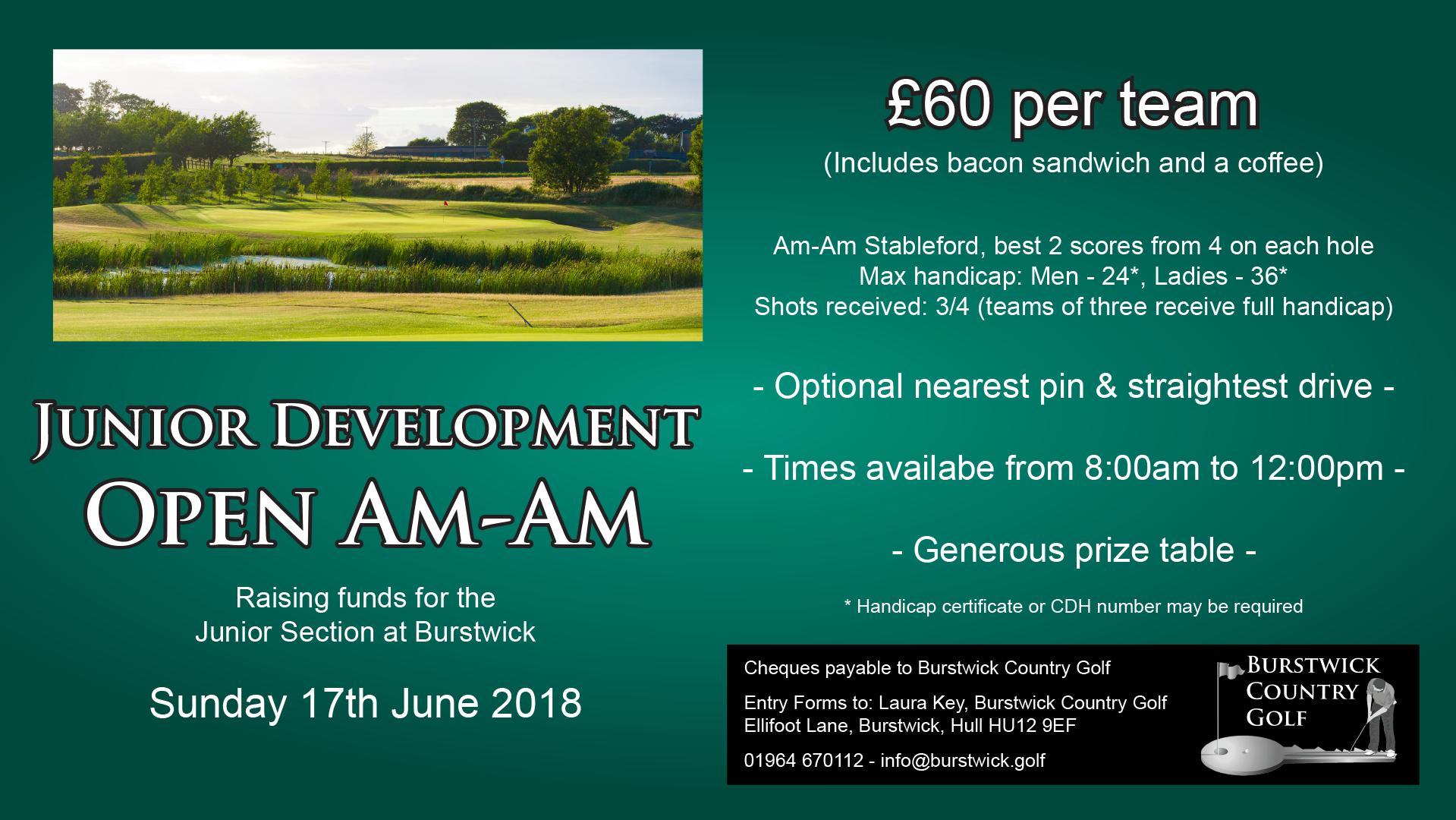 Junior Development Fundraising Am-Am