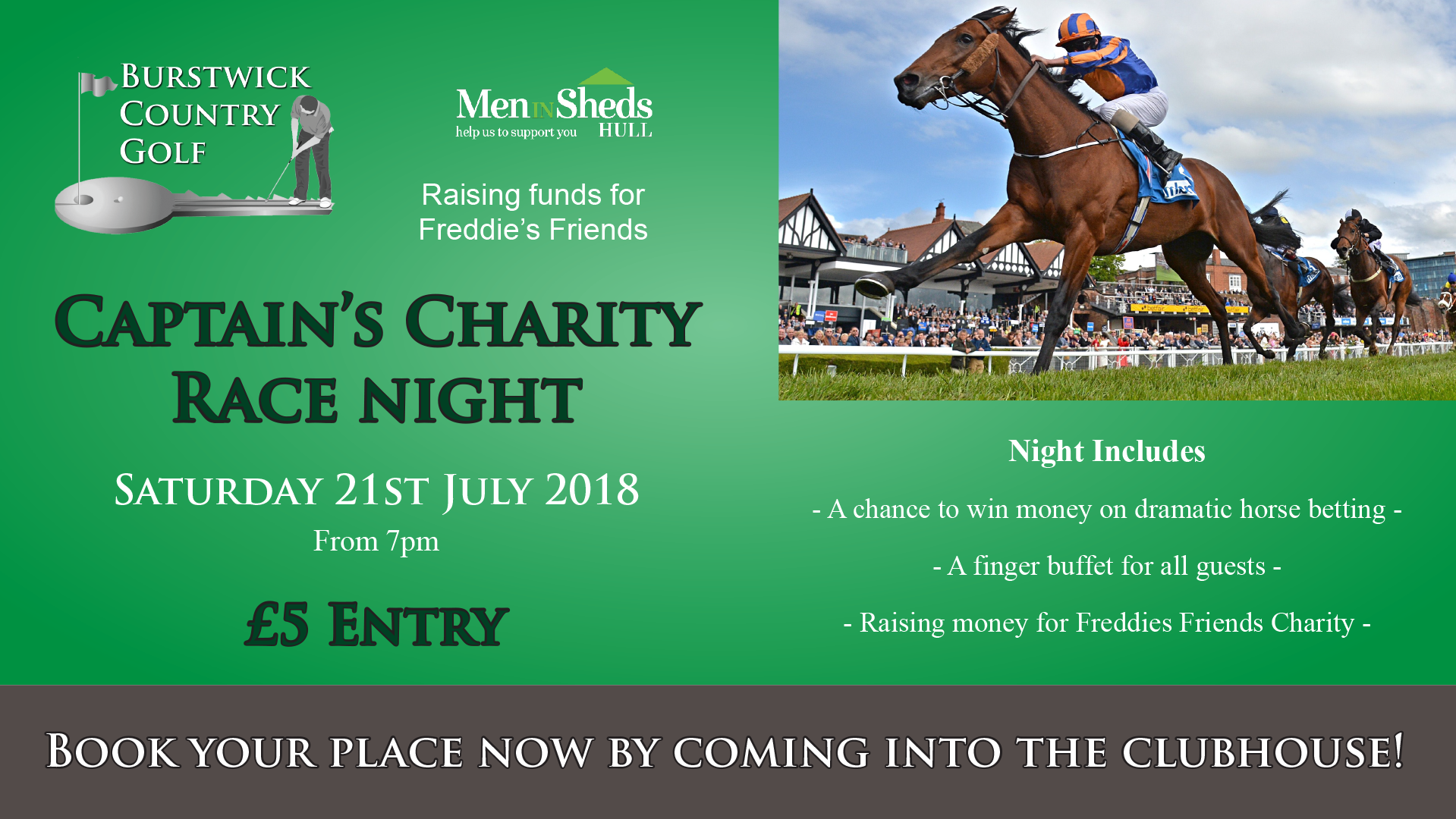 Charity Race Night
