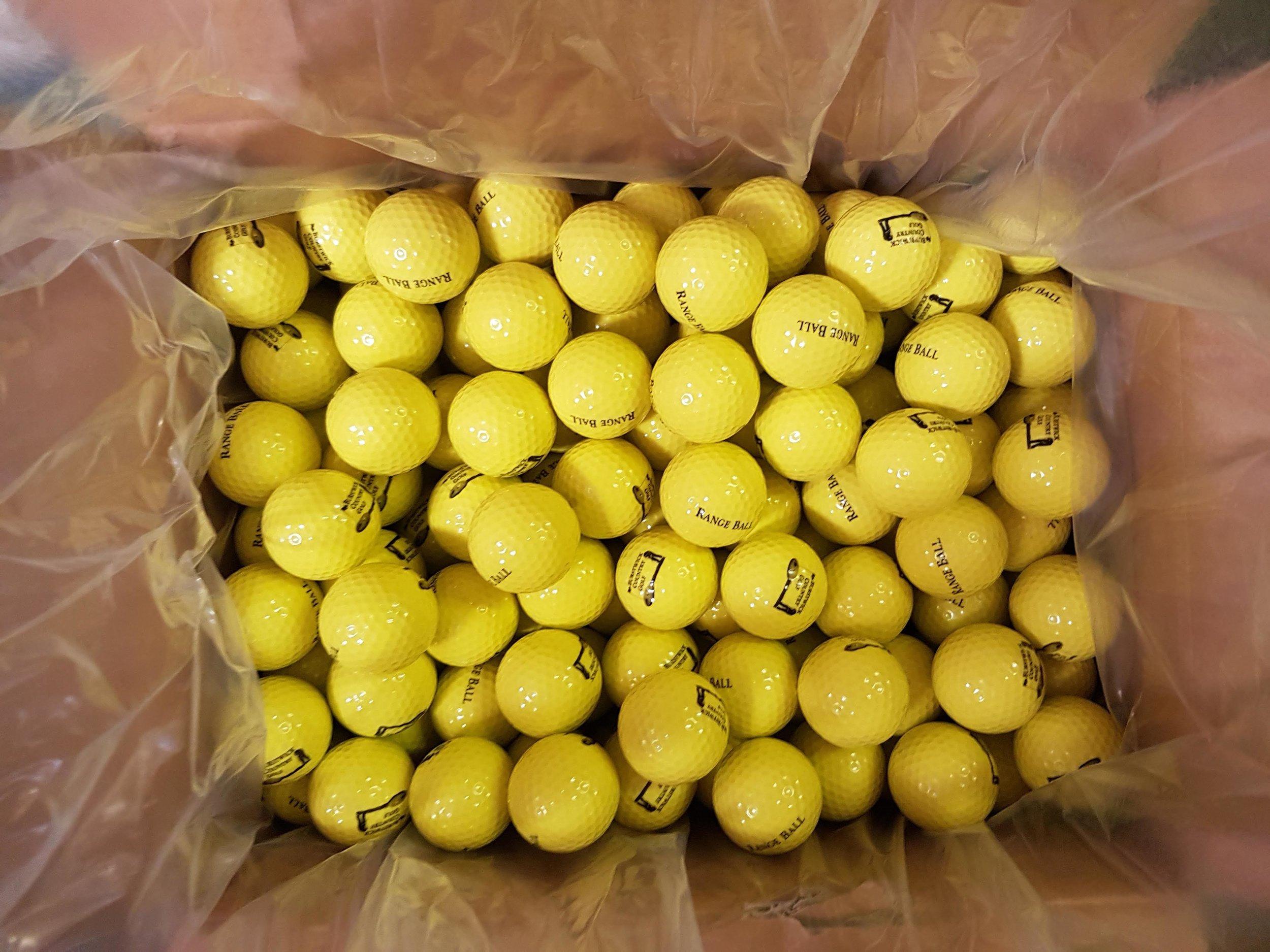 12,000 New driving range balls