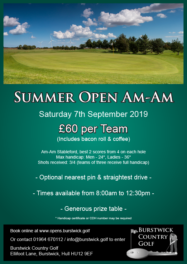 Summer Open Am-Am