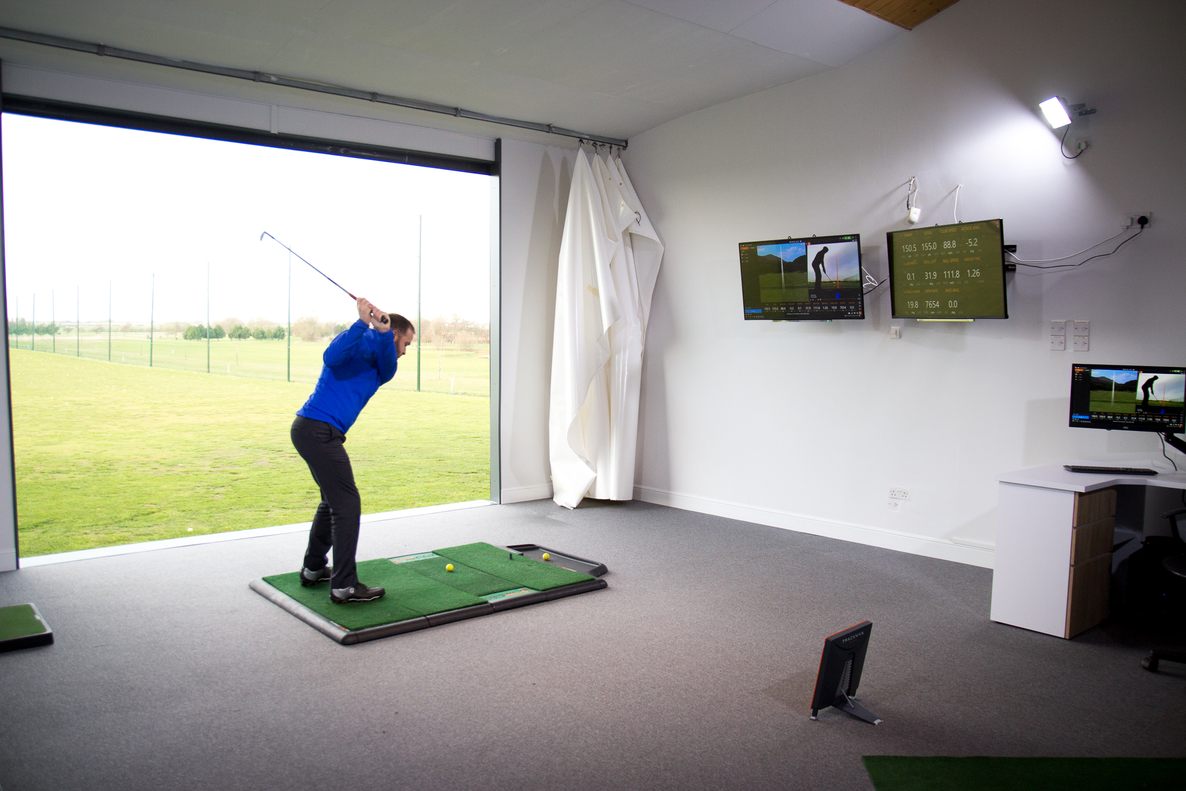 Matt Daley's Trackman Golf Studio