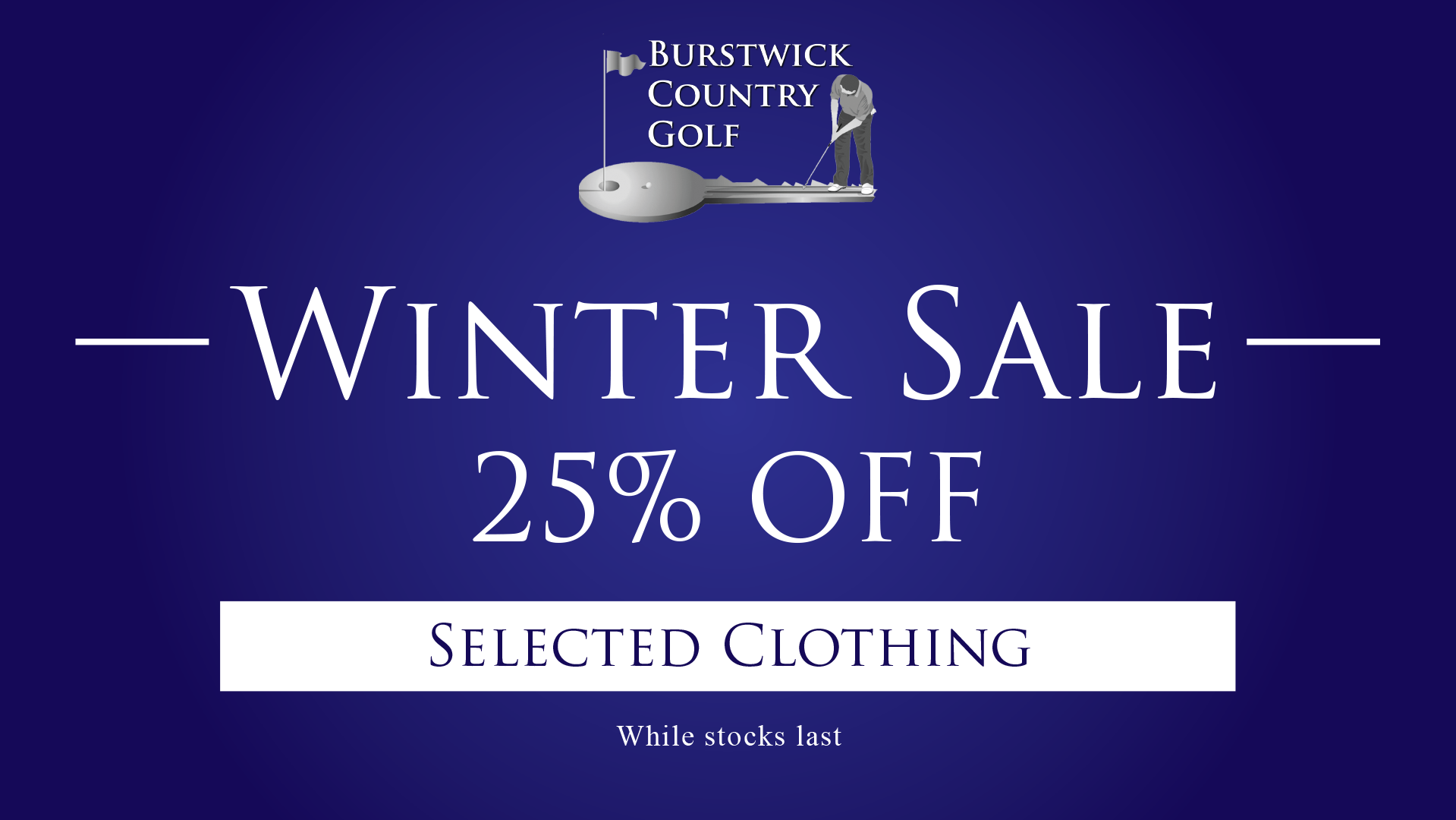 Pro Shop Winter Sale