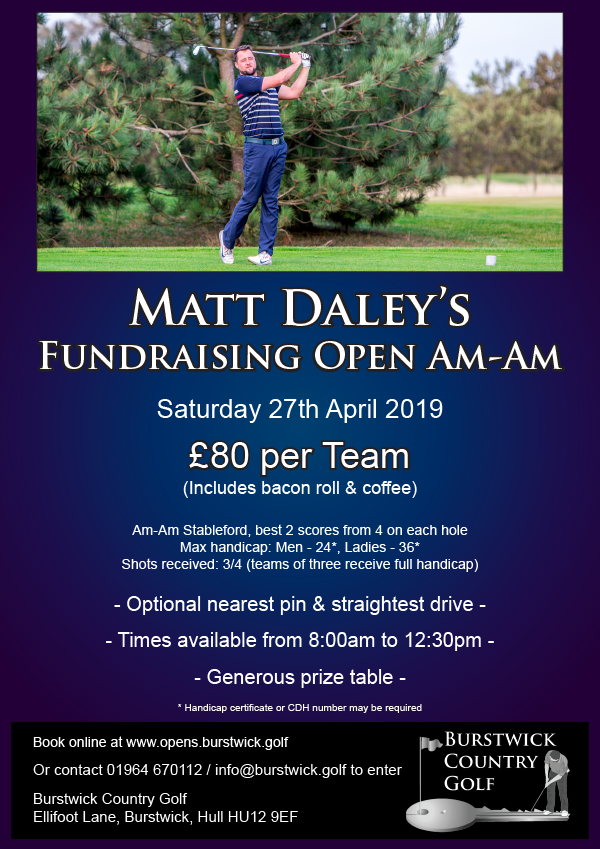 Matt Daley Open Am-Am