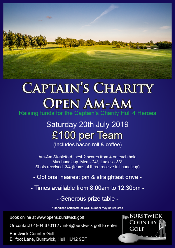 Captain's Charity Open Am-Am