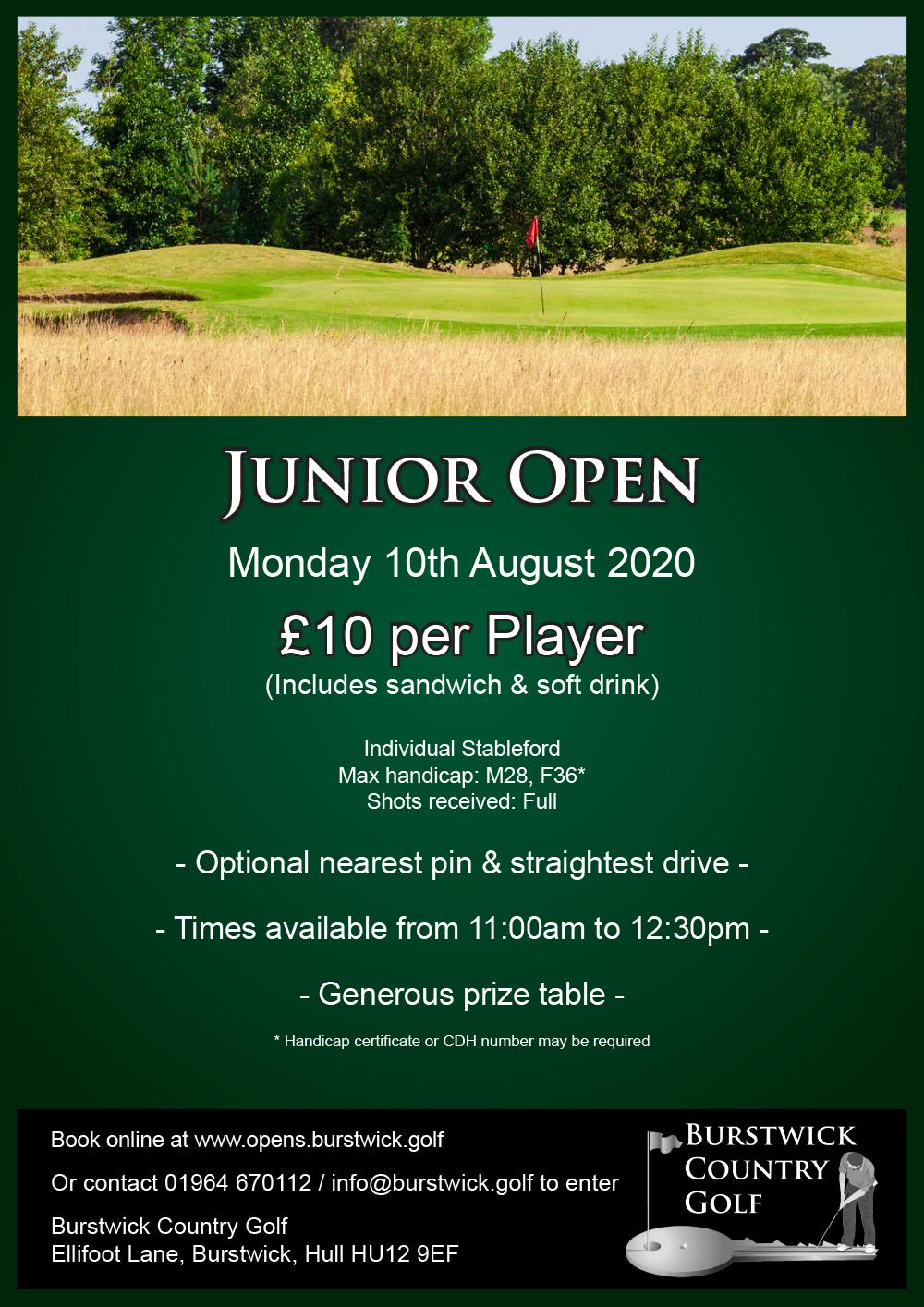 Junior Individual Open