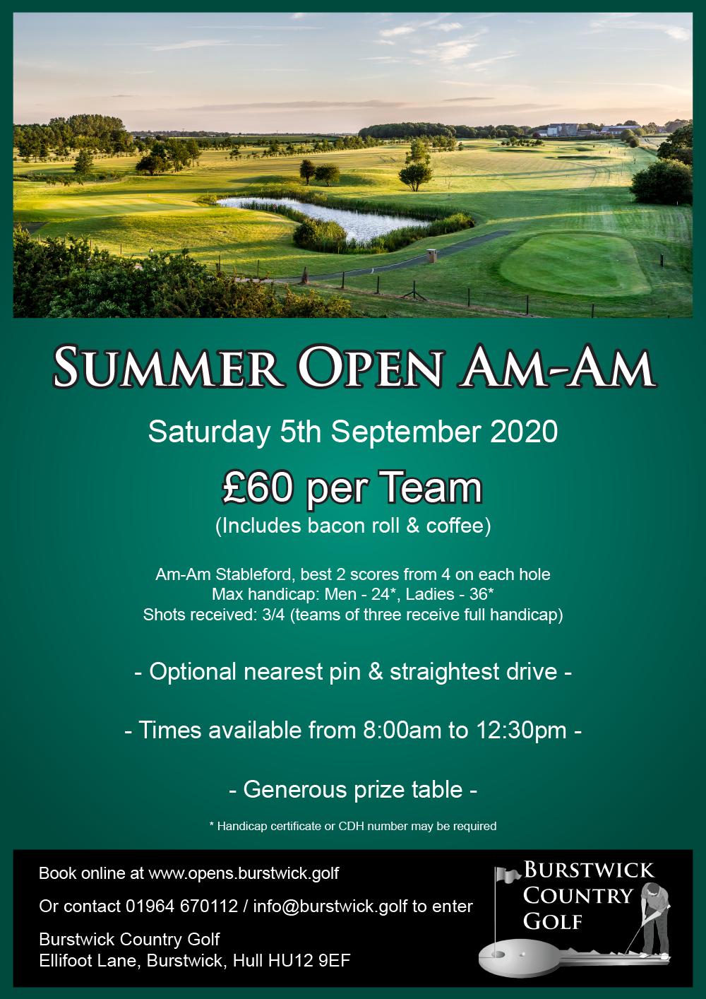 Summer Open Am-Am