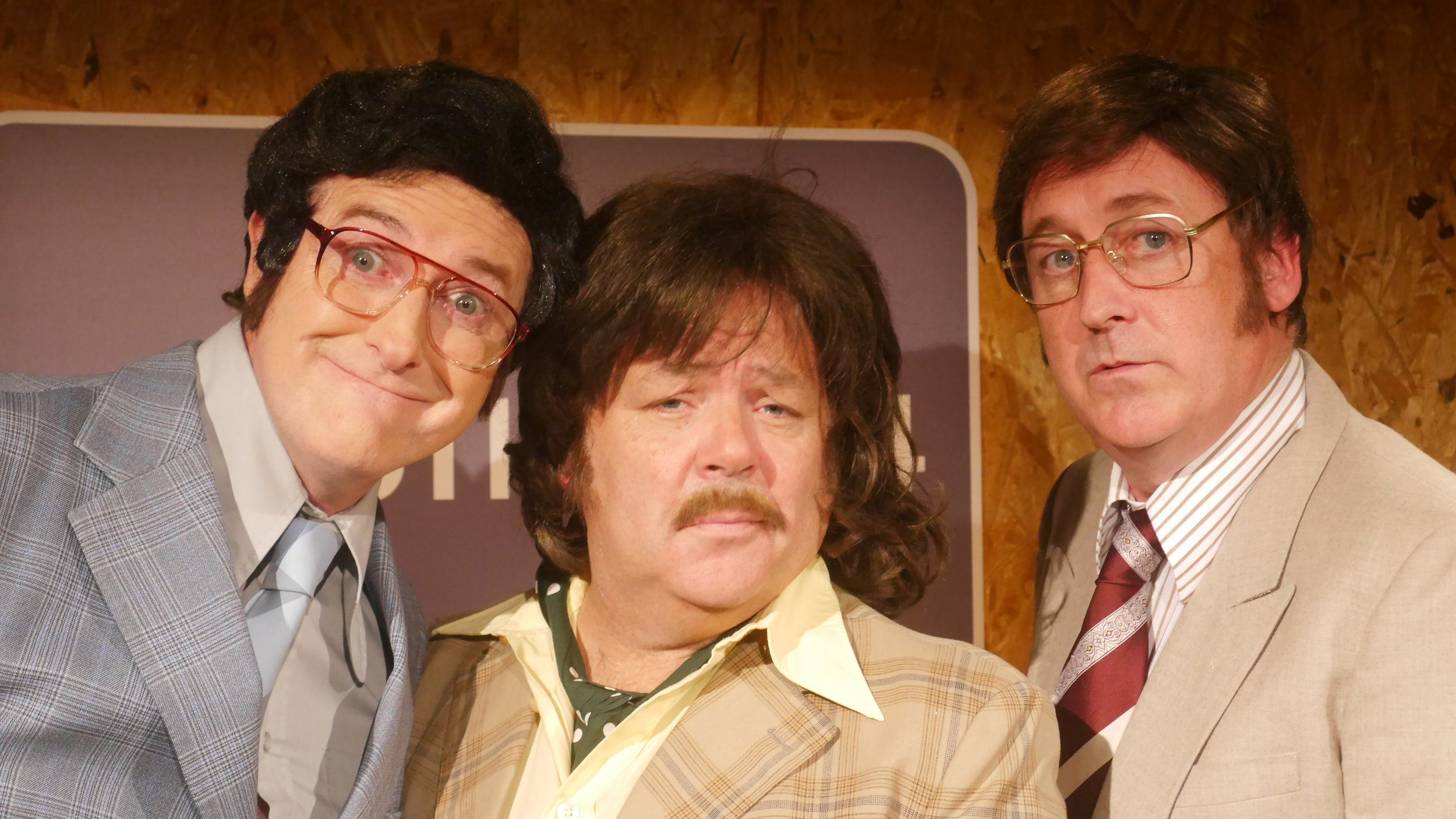 Apres Match features the trio of Barry Murphy, Risteárd Cooper, and Gary Cooke. Having first appeared on Irish screens during the 1998 World Cup Finals their satirical style proved to be an instant hit.    Taking their amazing character portrayals and jokes on tour was of course a logical progression.