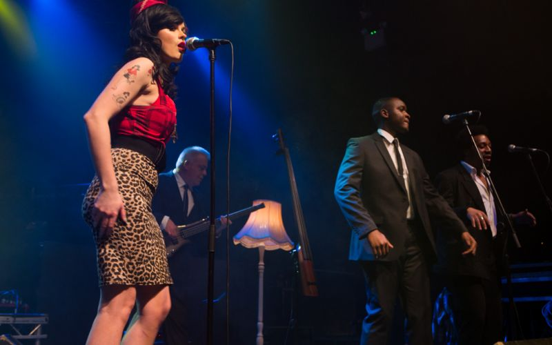 Formed in 2015  THE AMY WINEHOUSE EXPERIENCE AKA LIONESS features the 'Stars in Their Eyes' finalist Emma Wright as Amy Winehouse plus a full seven piece backing band recreating the authentic sound of this heady mix of jazz, soul and pop.
