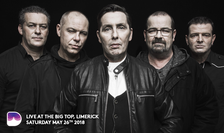 The Feel No Shame Tour will see the band perform their best known hits in the unique setting of Limerick's Milk Market