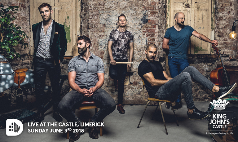 Dolans Presents have partnered once again with Shannon Heritage to produce the event, this time showcasing one of the most popular and exciting bands Limerick has produced.