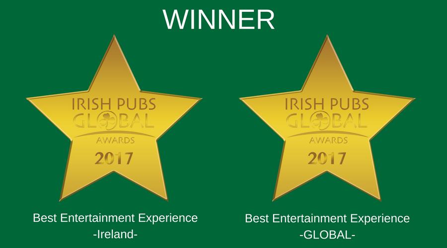 Dolans Best Entertainment (World) 2017 - Dolans Best Entertainment (Ireland)2017