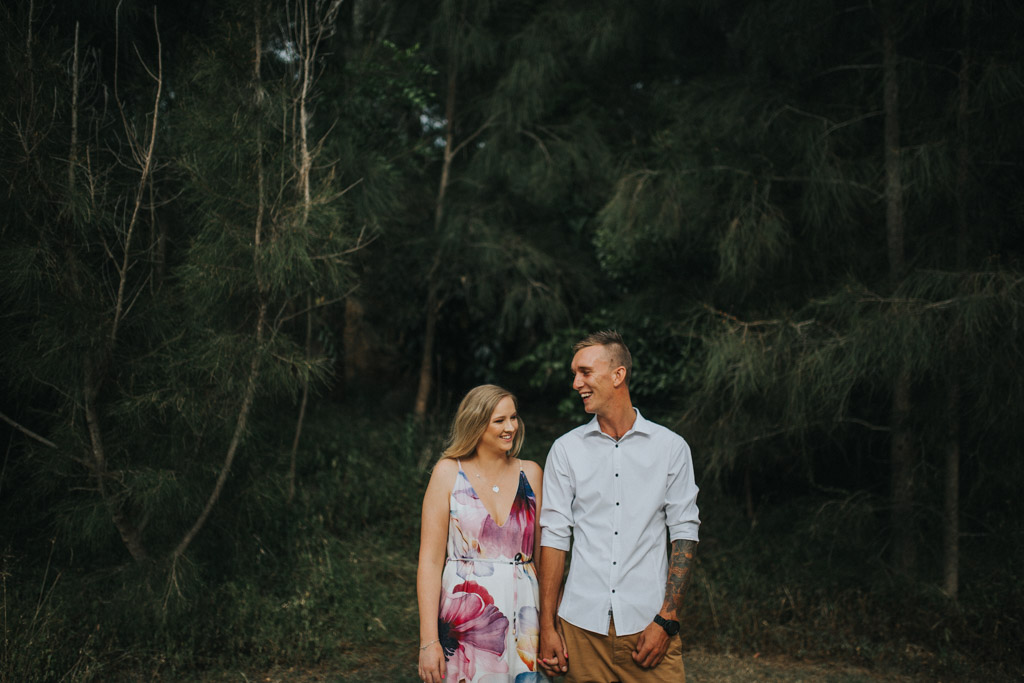Darcie & Trent Engagament Session South Coast-5.jpg