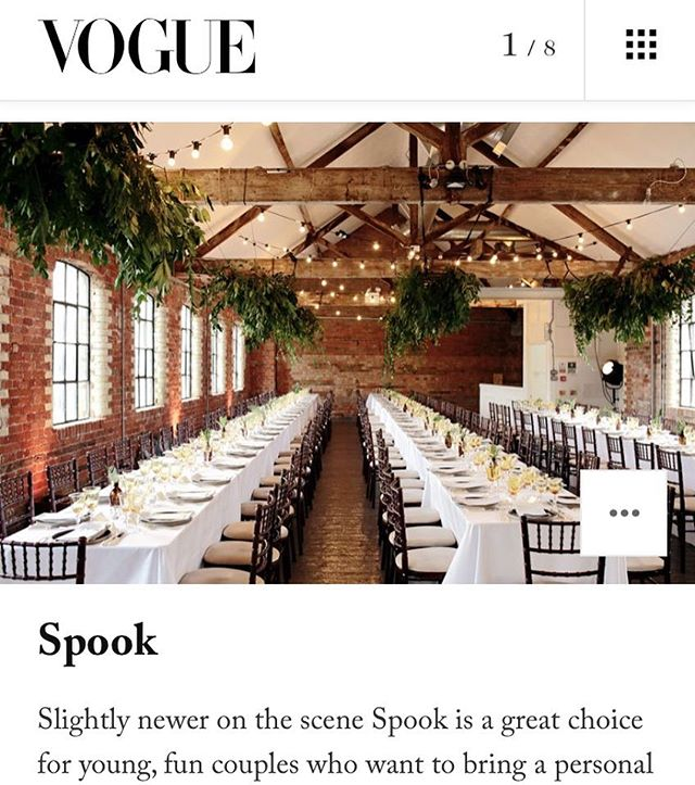 🌿🥂👰🏼👏🏼👏🏼👏🏼👰🏼🥂🌿 Our best buds @spookcooking featured on @britishvogue online this week. Check the article & get in touch if you've recently popped the question! 👉🏼💍👇🏼 http://www.vogue.co.uk/gallery/best-wedding-caterers • • #vogue #wedding #weddinginspo #cocktail #cocktails #caterer #weddingcatering #luxury #events #drink #food #autumn #seasonal #christmas #canape #party #fashion #art #corporate #team