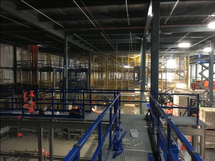 Newcold Storage Mezzanine Floor, Melbourne