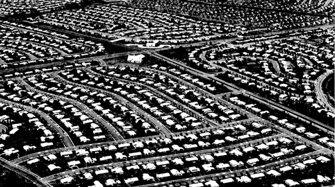 Little boxes, mostly made of ticky tacky.