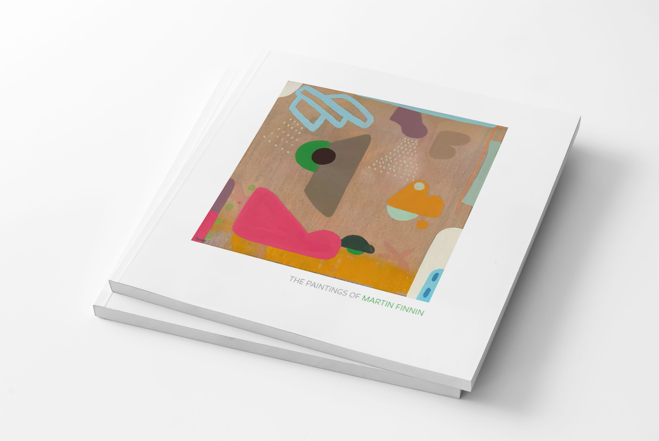 Finnin Artist Book John Martin Gallery London