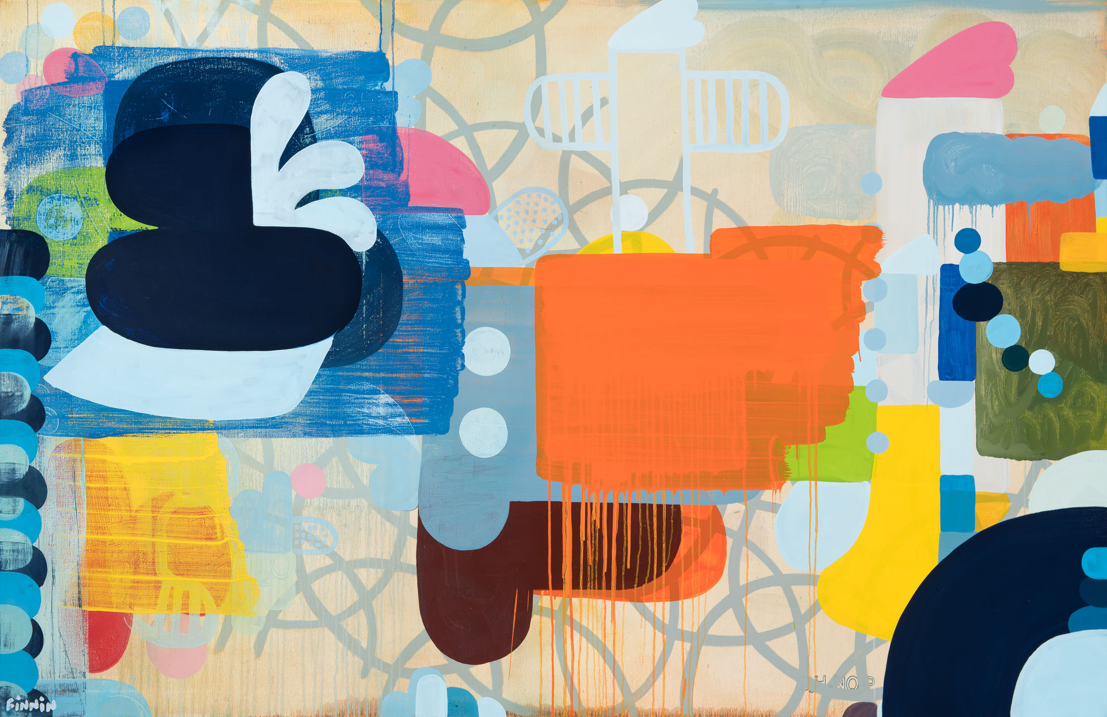 Chemical Constable & the Untwisting of Ampersand I oil on canvas I 145 cm x 225 cm.jpg