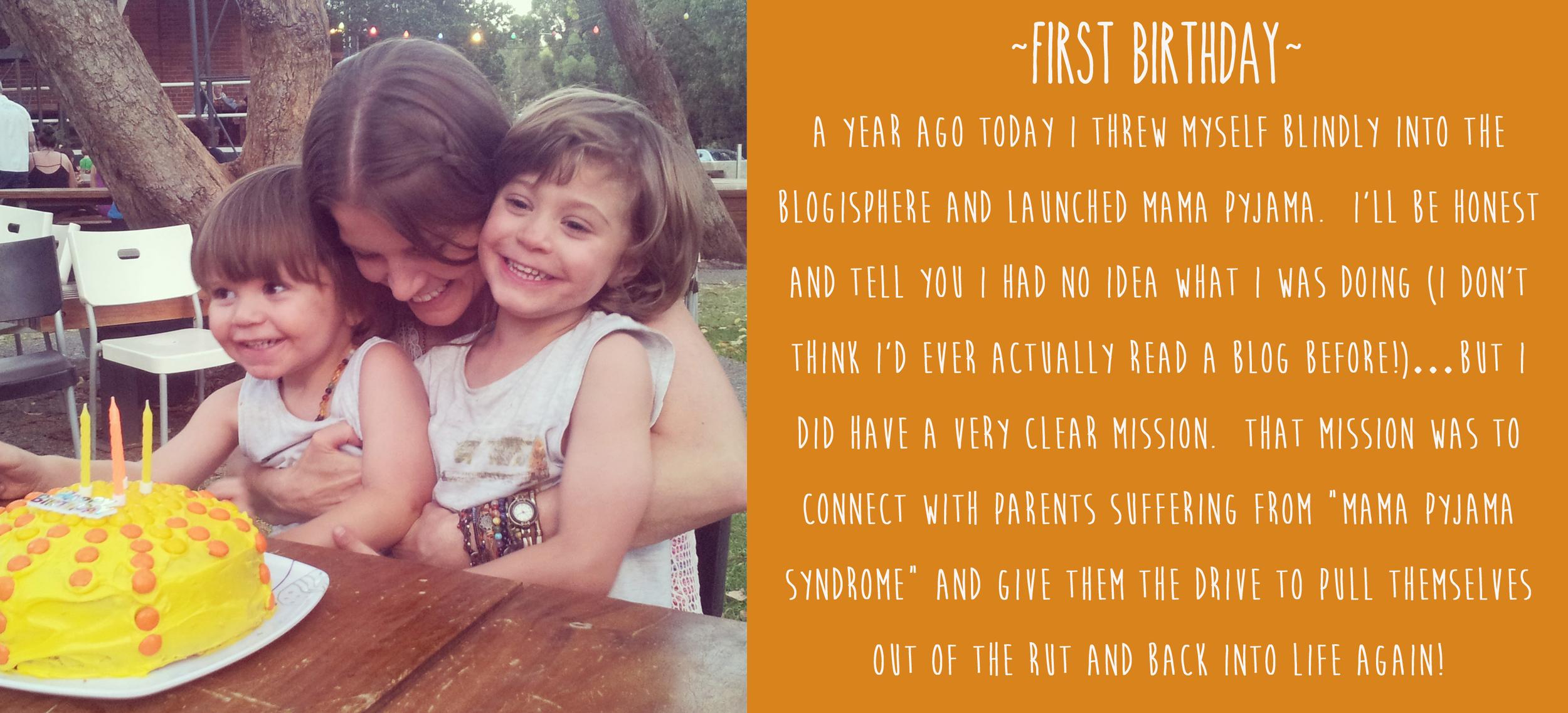 First Birthday Mama Pyjama