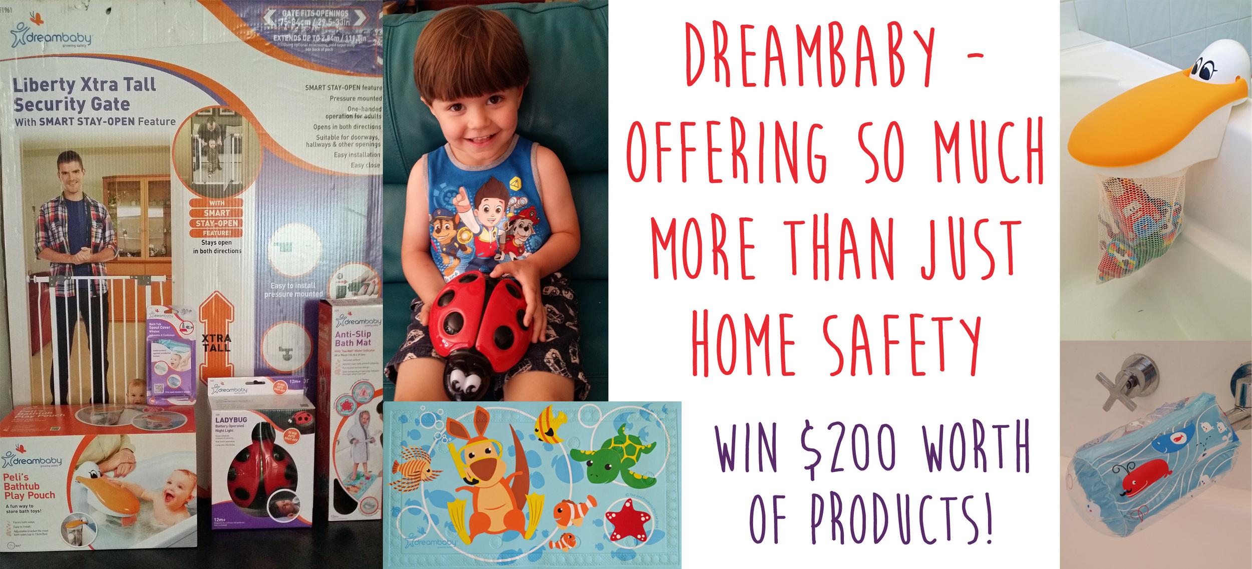 Mama Pyjama Dreambaby Giveaway