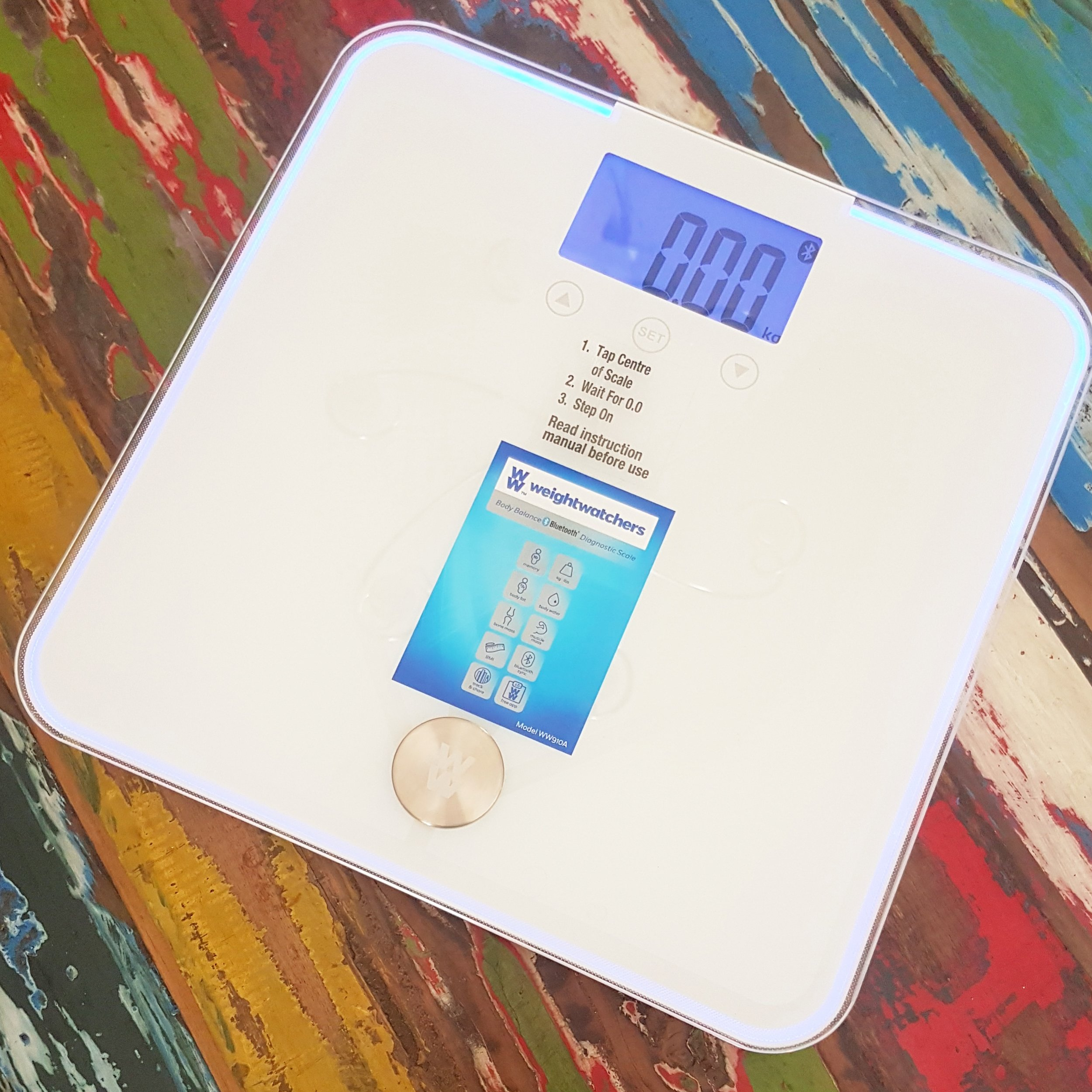 Weight Watchers Body Balance Bluetooth Diagnostic Scale Mama Pyjama