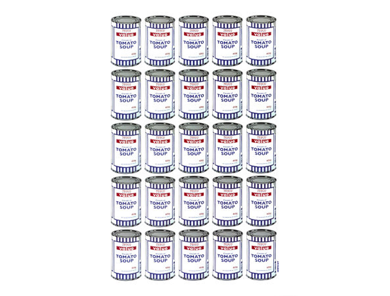 Banksy - Tomato Soup Cans