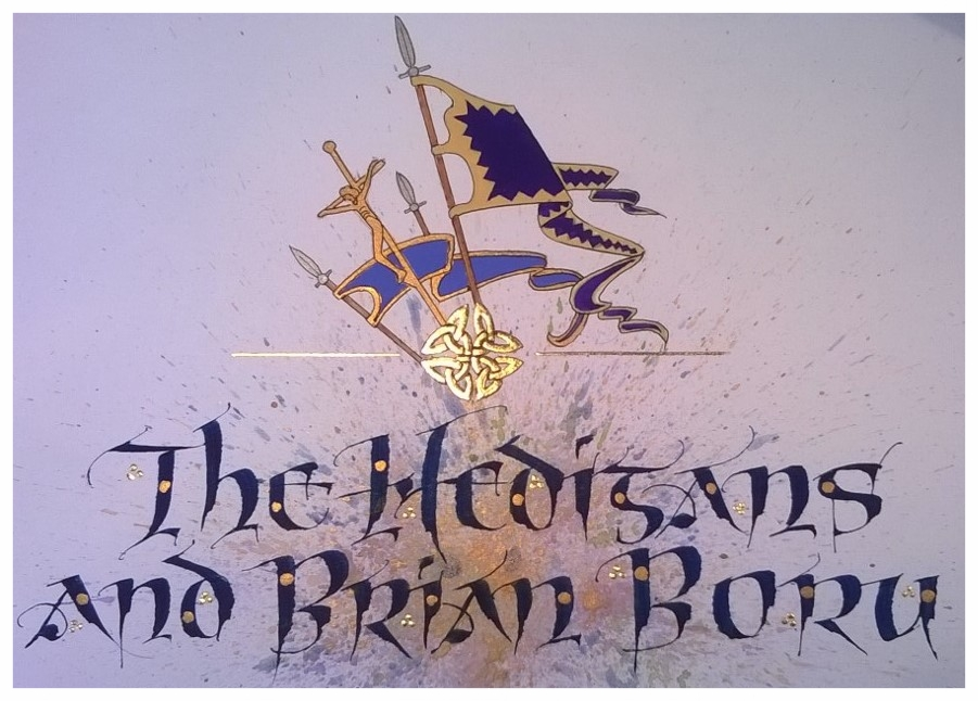 Title section, 'The Hedigans and Brian Boru'.