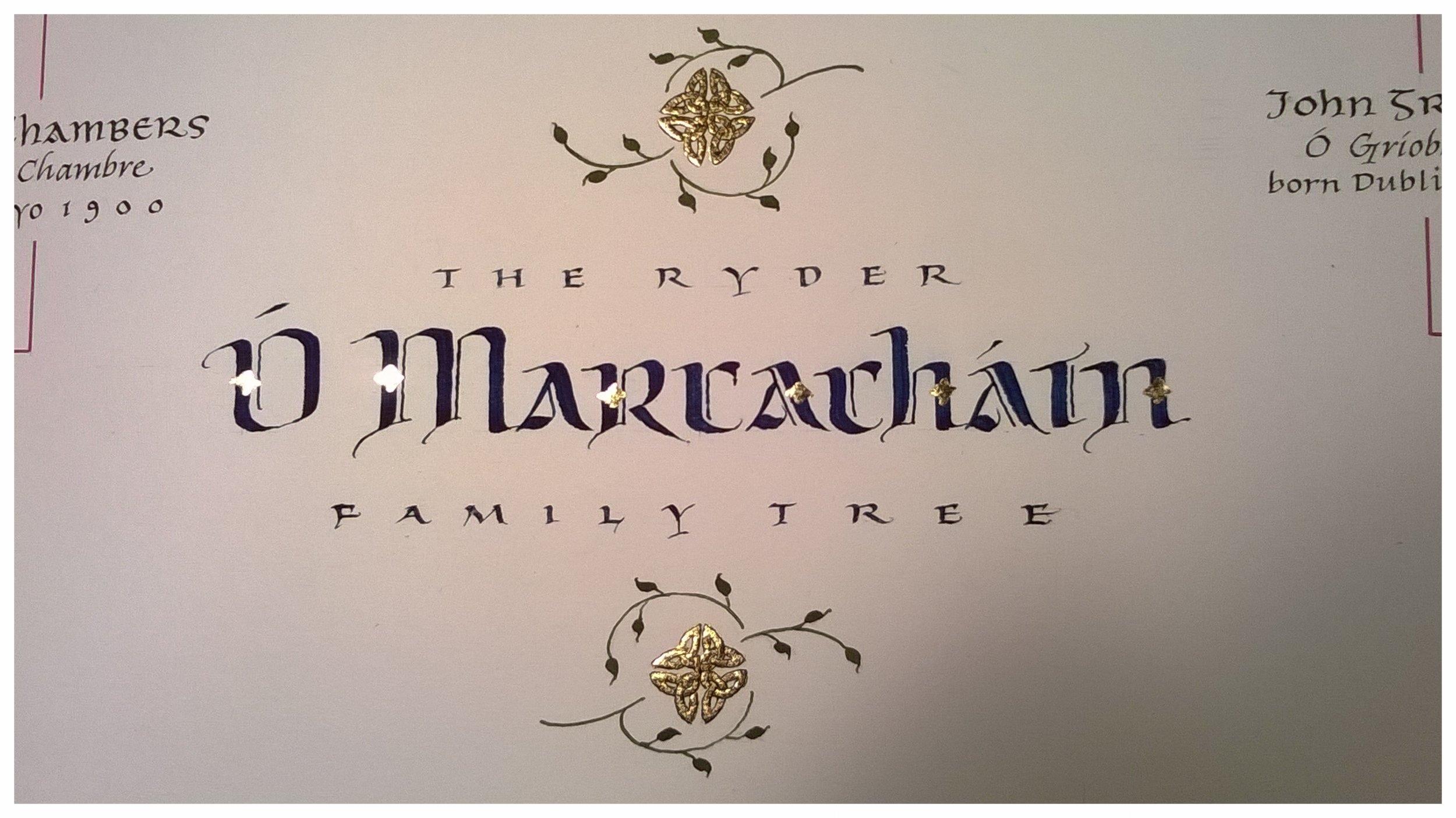 Ryder Family Tree