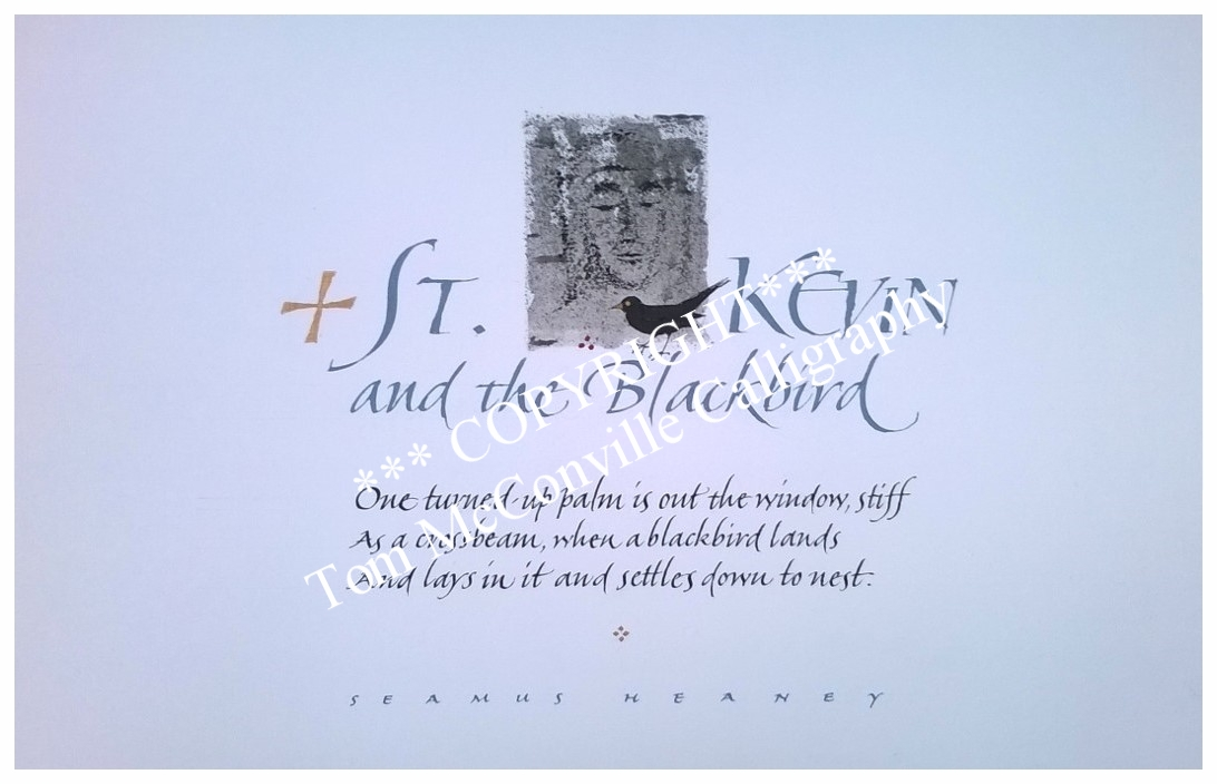 Extract, 'St Kevin and the Blackbird' by Seamus Heaney