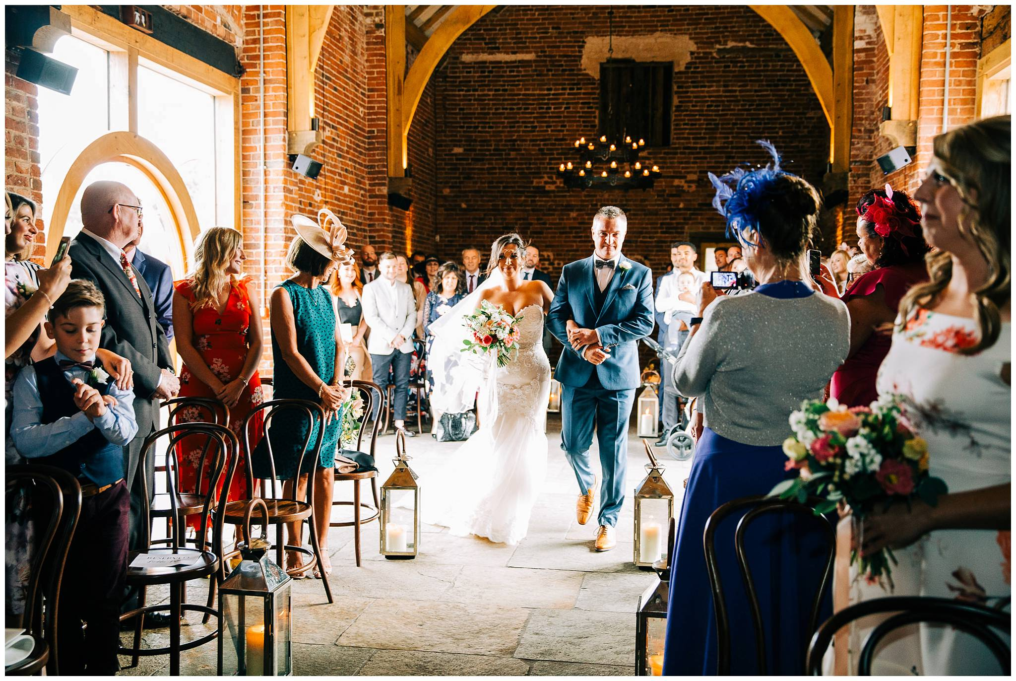Chic Summer Wedding at Hazel Gap Barn - Nottinghamshire Photographer19.jpg