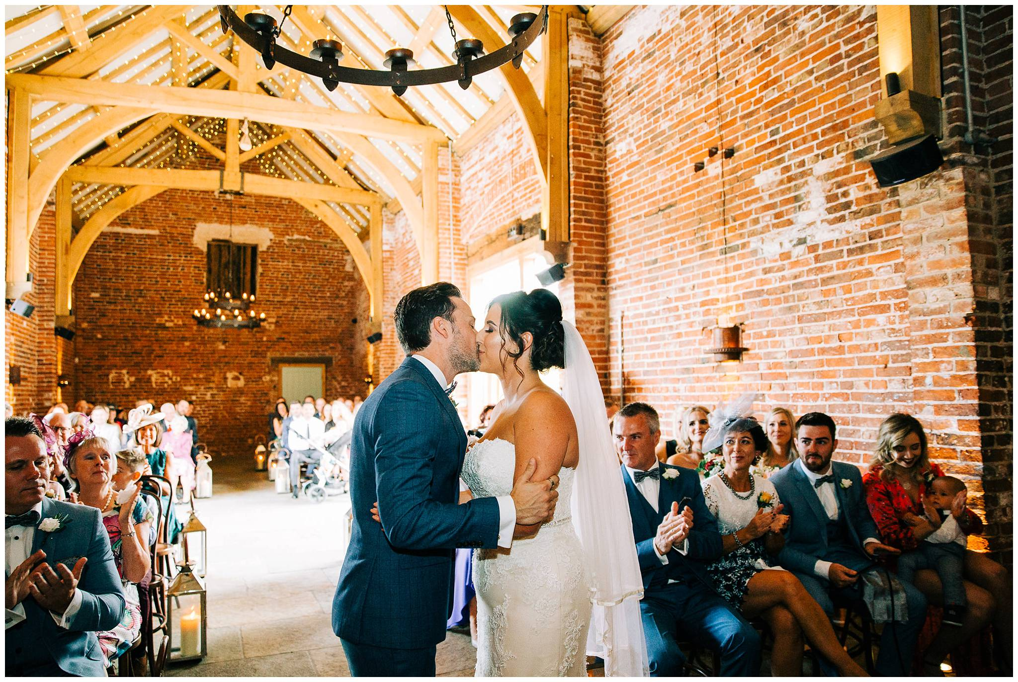 Chic Summer Wedding at Hazel Gap Barn - Nottinghamshire Photographer24.jpg