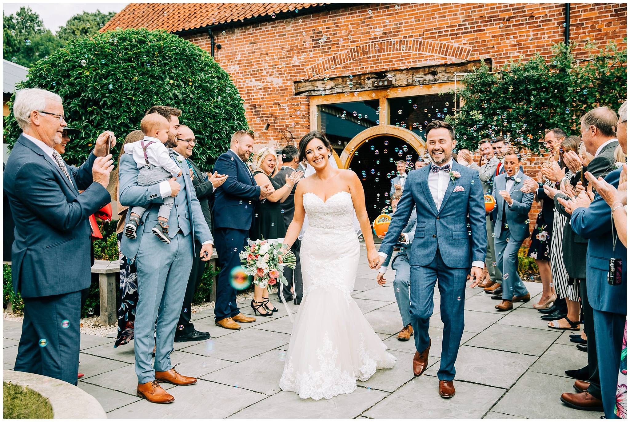 Chic Summer Wedding at Hazel Gap Barn - Nottinghamshire Photographer30.jpg