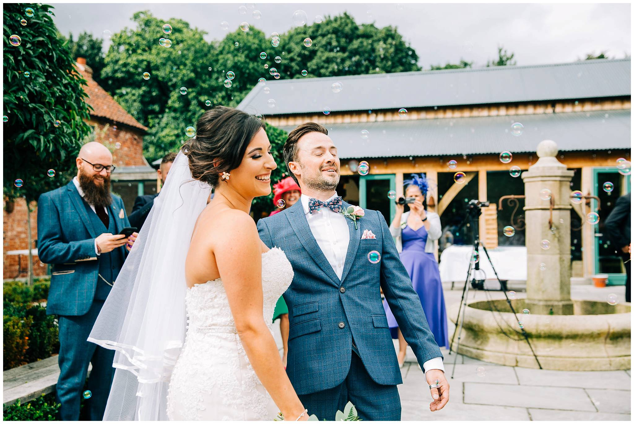 Chic Summer Wedding at Hazel Gap Barn - Nottinghamshire Photographer31.jpg