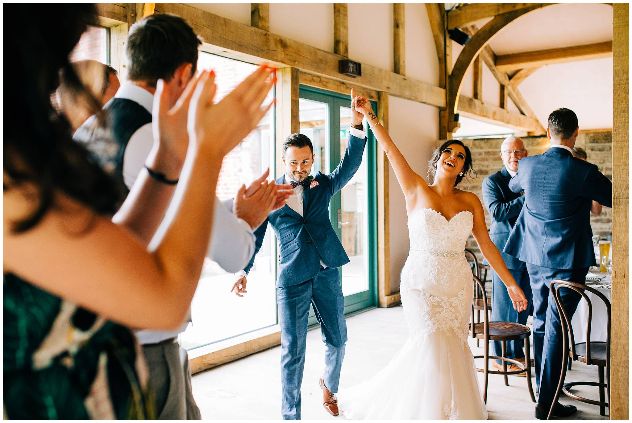 Chic Summer Wedding at Hazel Gap Barn - Nottinghamshire Photographer58.jpg