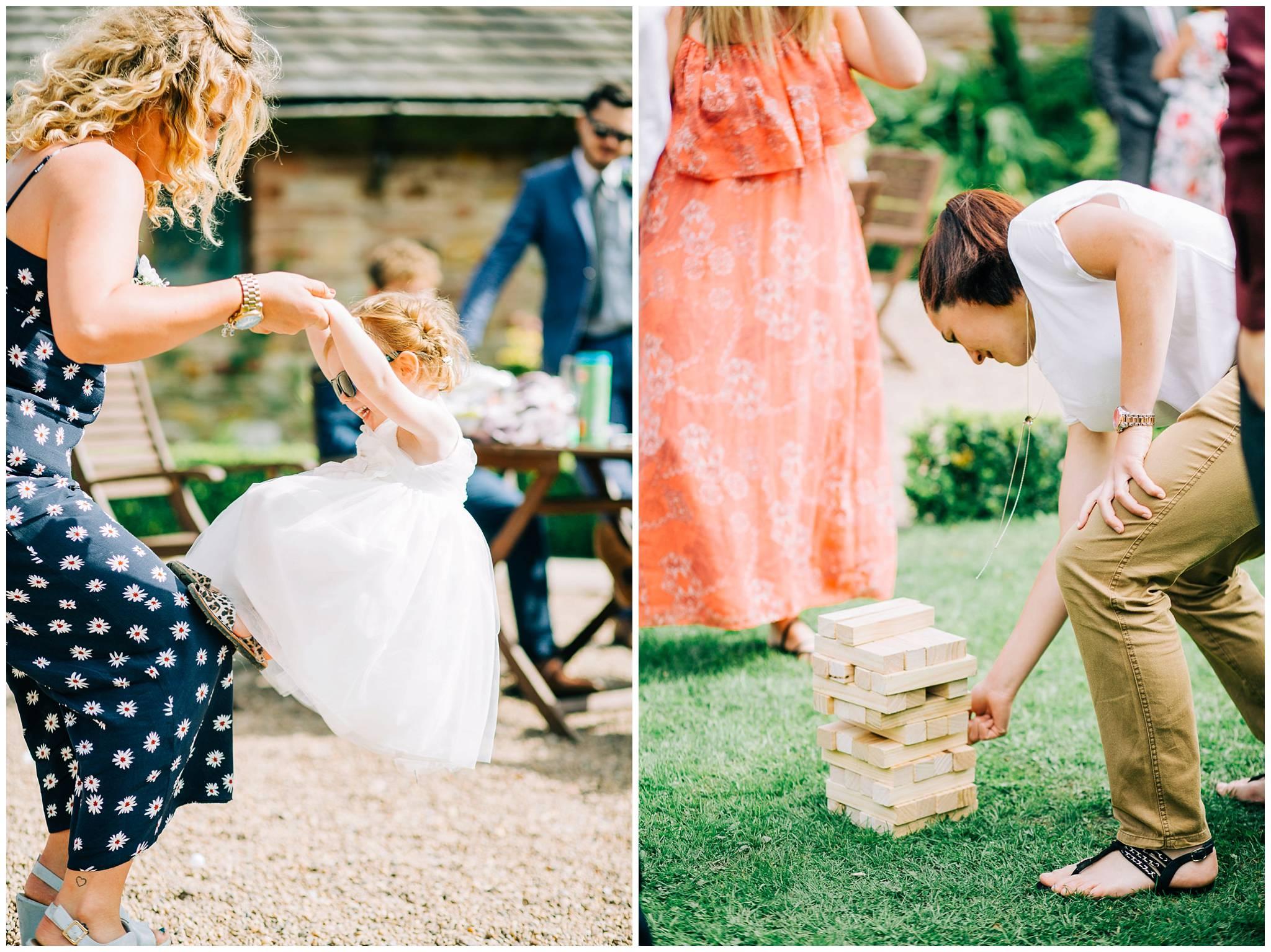Fun Rustic wedding - browsholme hall and tithe barn Photographer-73.jpg