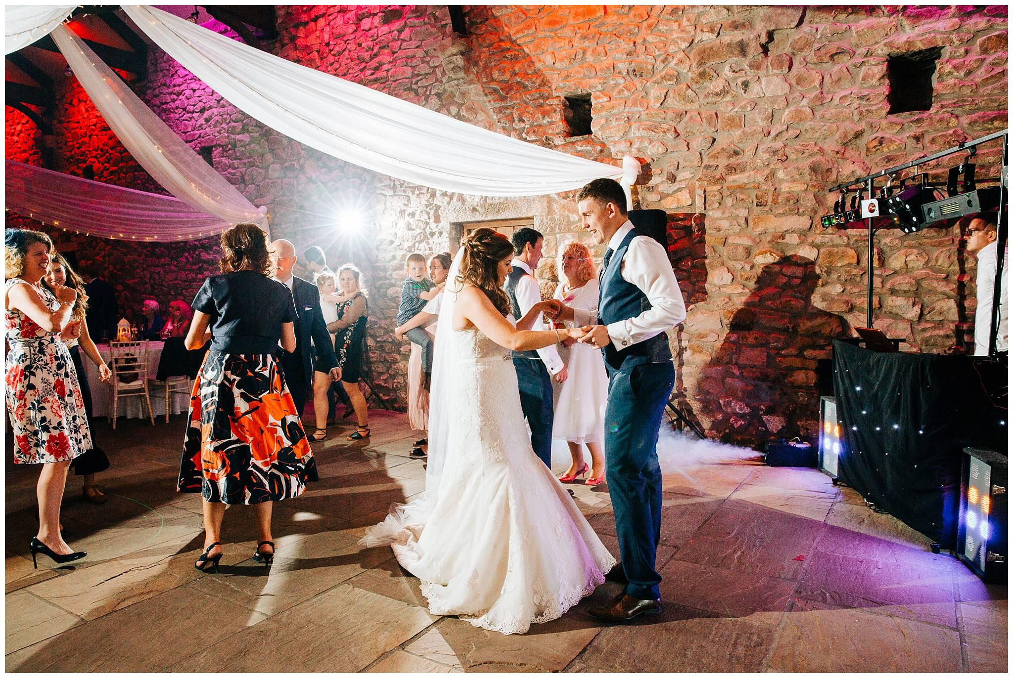 Fun Rustic wedding - browsholme hall and tithe barn Photographer-123.jpg