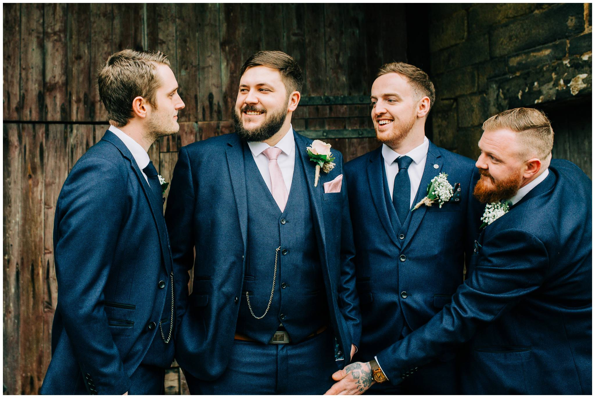 East Riddlesden Hall Photographer - Rustic winter Barn Wedding_0013.jpg