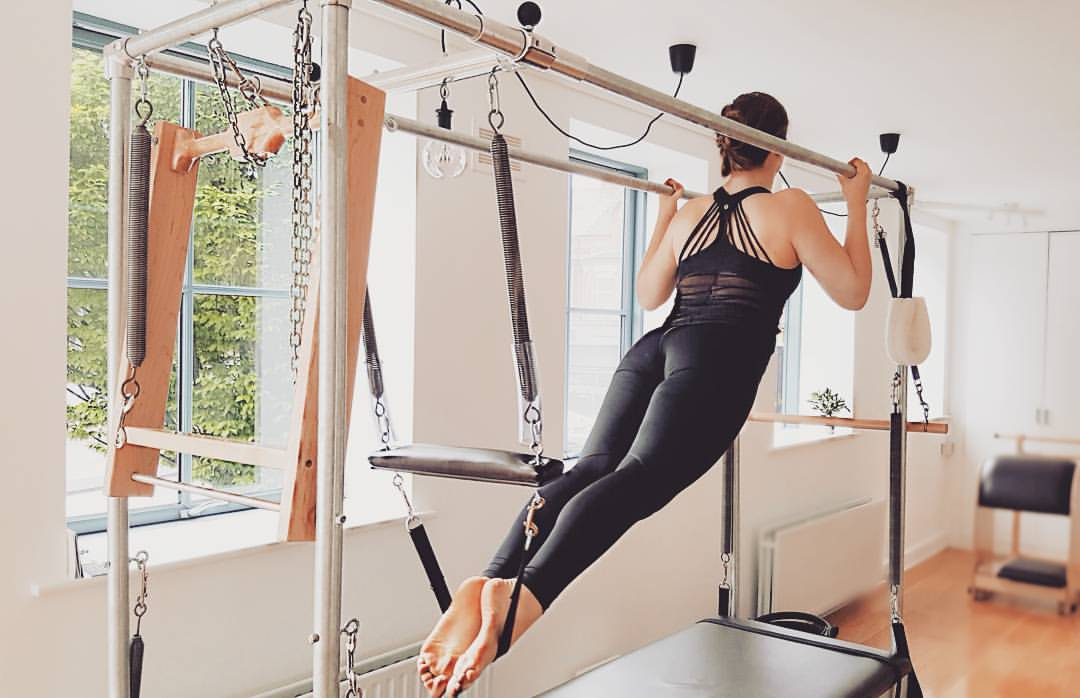 Pull Ups as part of the Traditional Ending to a Session, Vlada Korolova, The Pilates Studio Dublin