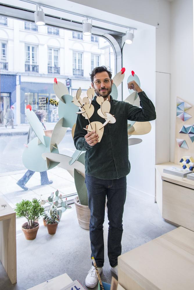 say hi to_ Papier Tigre - Design Objects Paris