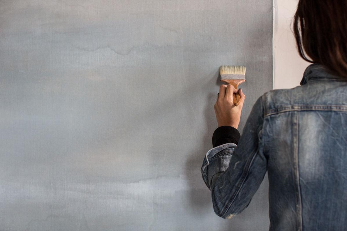 say hi to_ Calico Wallpaper | New York | Decor Design