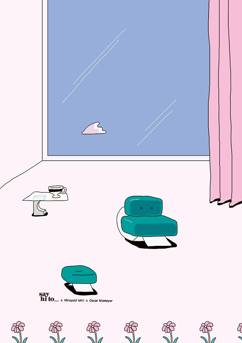 say hi to_ Hiro Ishii | Design Studies